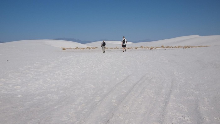 Photo de   Alkali Trail White sands NM